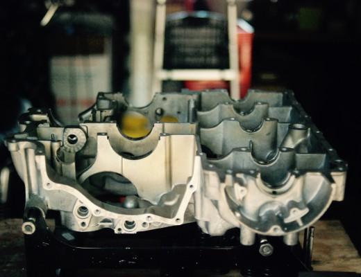 CB750 lower engine case